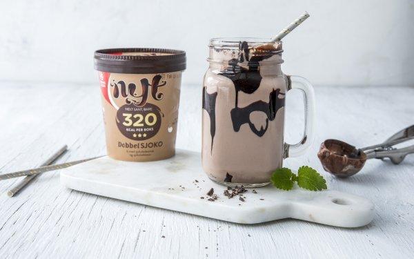 Proteinshake med NYT iskrem fra Hennig-Olsen Is