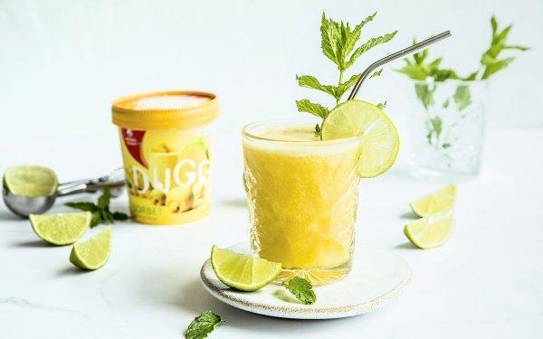 Mango mocktail drink med DUGG sorbet