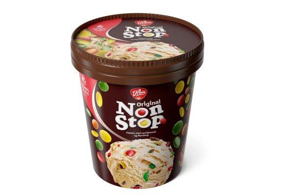 Freia Non stop iskrem beger