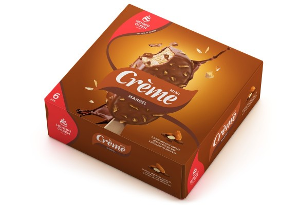 Creme mandel mini multipack