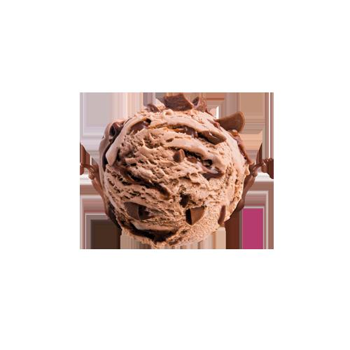 Freia Melkesjokolade iskrem kule