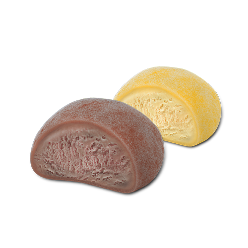 Hennig-Olsen Is Mochi sjokolade og mango